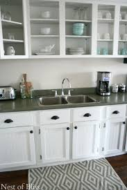 Paint For Kitchen Countertops Remodelaholic How To Spray Paint Faux Granite Countertops