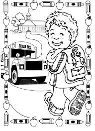 online for kid first day of kindergarten coloring page 91 for free