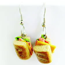 food earrings handmade food earrings by mashia crafts by crearte custommade