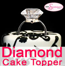 ring cake topper diamond cake topper ultnice diamond cake topper cupcake picks