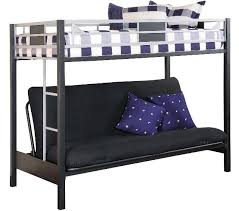 Installation A Metal Bunk Bed With Futon Modern Wall Sconces And - Metal bunk beds with futon
