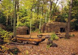 exhibits the institute for american indian studies museum replicated algonkian village