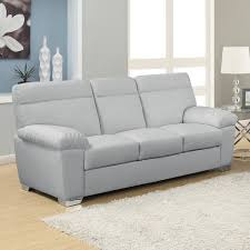 Gray Leather Sofa Gray Leather Sofa Design Your Light Gray Leather Sofa In Sofa