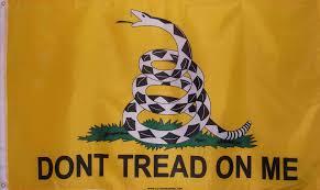 Dont Tread On Me Confederate Flag American Revolution Louisiana Rebel