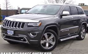 dodge jeep white 2014 jeep grand cherokee overland video tour 3 0 l v6