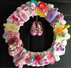 wreath these are the best baby shower ideas crafty