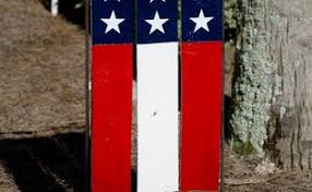 Pallet Garden Decor American Flag Pallet Art Hometalk