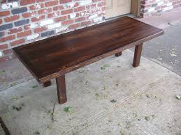 Stained Coffee Table Driftedge Woodworking Reclaimed Doug Fir And Spruce Coffee Table