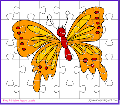 free printable jigsaw puzzle game butterfly jigsaw puzzle