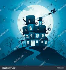 Halloween Haunted Houses Nyc by Halloween Haunted House Stock Vector 314693048 Shutterstock