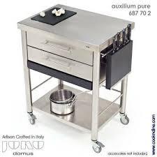 brilliant kitchen cart stainless steel kitchen island with wheels - Stainless Steel Kitchen Island On Wheels