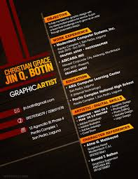 Resume For Artist 50 Best Resume Samples 2016 2017 Resume Format 2016