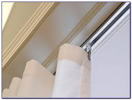 ceiling mount curtain rods canopy bed curtain home decorating