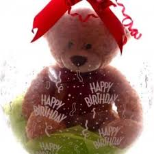teddy bears inside balloons teddy in a balloon stuffed balloons gift inside a balloon my