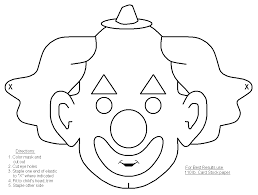 printable halloween masks colouring u2013 fun christmas