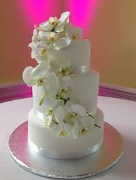 white oak bakery jacksonville nc teal and coral plumeria wedding cake made at white oak bakery in