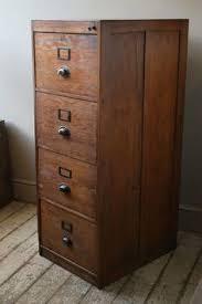 Vintage Industrial File Cabinet Vintage Industrial Chic Metal Filing Cabinet Encased In Reclaimed