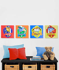 Paw Patrol Room Decor Look What I Found On Zulily Paw Patrol Canvas Set Of Four By