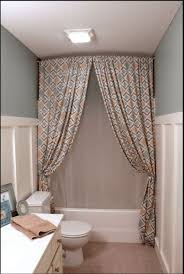 hack a ceiling track for shower curtain ikea hackers ikea hackers