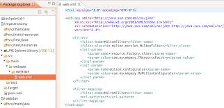 pattern java file module page create the web xml file