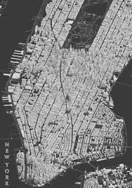Citibike Map Clay Render Of Manhattan Shows Buildings In 3d Using Open Street