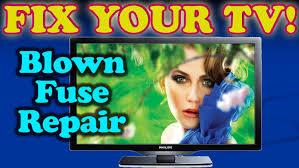 tv repair fix for blown fuse philips magnavox emerson samsung lg