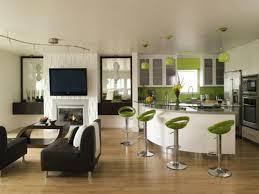 cuisine ouverte sur salon deco salon cuisine ouverte americaine salle manger lzzy co