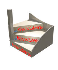 kwikstairs left hand winder staircase pack w 900mm departments