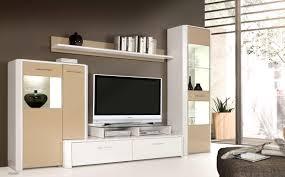 Wohnzimmer Ideen Nussbaum Wohnwand Creme Hochglanz Home Design Ideas