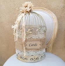 wedding gift holder birdcage card holder shabby chic birdcage wedding gift box