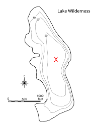 What Is A Topographic Map Lake Information Page King County