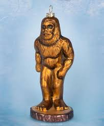 bigfoot ornament archie mcphee co