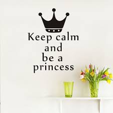 Princess Wall Decals For Nursery by Online Buy Wholesale Nursery Wall Quotes Princess From China