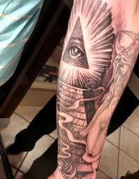 illuminati all seeing eye by george muecke tattoos