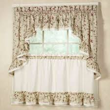 Kitchen Tier Curtains by Cherries Ruffle Tier Valance And Swag Home Pinterest