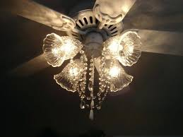 Diy Chandelier Lamp Chandelier Ceiling Fan Light Kit Black Ceiling Fan With Chandelier