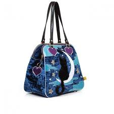 irregular choice starry cat and moon handbag ashbury skies