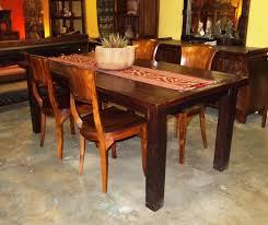 reclaimed teak dining room table furniture fascinaing reclaimed teak dining table design vintage
