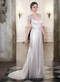20 deco wedding dress with gatsby chic vintage brides