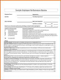 performance review comments 13 performance appraisal examples sponsorship letter
