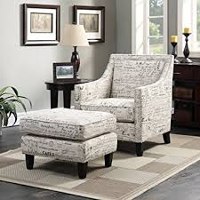 Accent Chair With Ottoman Picket House Emery Accent Chair And Ottoman Set