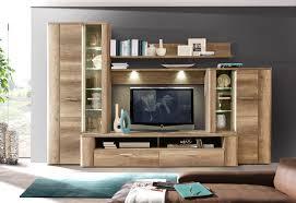 Wohnzimmer Modern Eiche Schrankwand Eiche Ausgeglichenes Auf Wohnzimmer Ideen Plus Modern 3