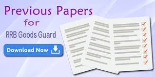 exam pattern of goods guard rrb goods guard previous question papers syllabus download pdf