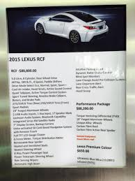lexus rc price canada canadian pricing on rc clublexus lexus forum discussion