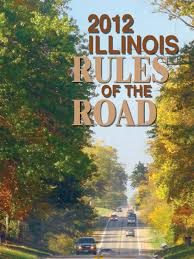 illinois rules of the road 2012 2013 driver u0027s license