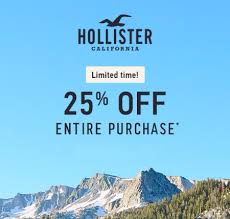 sale at hollister co