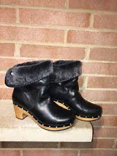 ugg bryce womens 1009177 blk ugg australia s leather us size 7 ebay