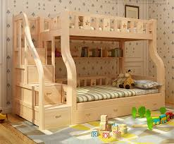 Cheap Wood Bunk Beds Kid Wood Bunk Bed Double Decker Bed For Kids Cheap Wood Bunk Beds