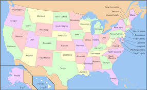canada states map map of the states and canada major tourist attractions maps
