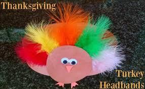 turkey headband thanksgiving turkey headband craft right start